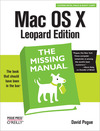 Livre numérique Mac OS X Leopard: The Missing Manual
