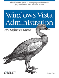 Livre numérique Windows Vista Administration: The Definitive Guide