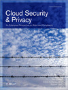Livre numérique Cloud Security and Privacy