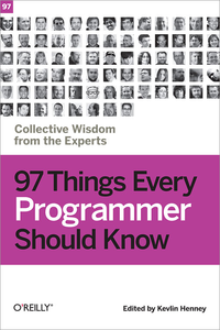 Livre numérique 97 Things Every Programmer Should Know