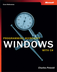 Livre numérique Programming Microsoft®  Windows® with C#