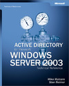 Livre numrique Active Directory for Microsoft Windows Server 2003 Technical Reference