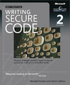 Livre numrique Writing Secure Code