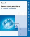 Livre numrique Security Operations for Microsoft Exchange 2000 Server