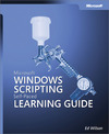 Livre numrique Microsoft Windows Scripting Self-Paced Learning Guide