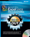 Livre numrique Microsoft Office Excel 2003 Programming Inside Out