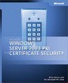 Livre numrique Microsoft Windows Server 2003 PKI and Certificate Security