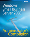 Livre numérique Windows® Small Business Server 2008 Administrator's Companion