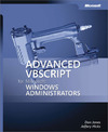 Livre numrique Advanced VBScript for Microsoft Windows Administrators