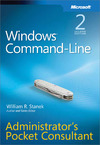 Livre numérique Windows® Command-Line Administrators Pocket Consultant
