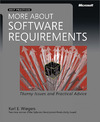 Livre numrique More About Software Requirements: Thorny Issues and Practical Advice