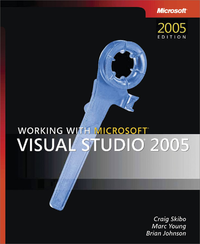 Livre numérique Working with Microsoft® Visual Studio® 2005