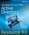 Livre numérique Windows Server® 2008 Active Directory® Resource Kit