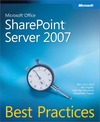 Livre numérique Microsoft® Office SharePoint® Server 2007 Best Practices