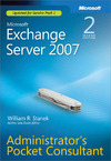 Livre numérique Microsoft® Exchange Server 2007 Administrators Pocket Consultant