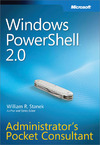 Livre numérique Windows PowerShell™ 2.0 Administrators Pocket Consultant