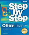 Livre numrique Microsoft Office 2008 for Mac Step by Step