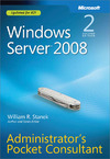 Livre numérique Windows Server® 2008 Administrators Pocket Consultant