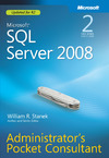 Livre numrique Microsoft SQL Server 2008 Administrator&#x27;s Pocket Consultant