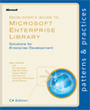 Livre numrique Developer&#x27;s Guide to Microsoft Enterprise Library, C# Edition