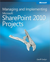 Livre numrique Managing and Implementing Microsoft SharePoint 2010 Projects