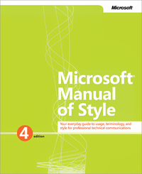 Livre numrique Microsoft Manual of Style