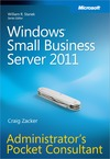 Livre numérique Windows® Small Business Server 2011 Administrator's Pocket Consultant