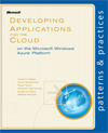 Livre numérique Developing Applications for the Cloud on the Microsoft® Windows Azure™ Platform