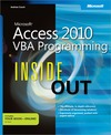 Livre numrique Microsoft Access 2010 VBA Programming Inside Out