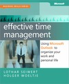 Livre numrique Effective Time Management: Using Microsoft Outlook to Organize Your Work and Personal Life