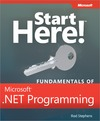 Livre numrique Start Here! Fundamentals of Microsoft .NET Programming