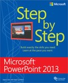 Livre numrique Microsoft PowerPoint 2013 Step by Step