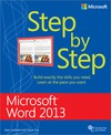 Livre numrique Microsoft Word 2013 Step by Step