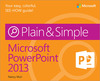 Livre numrique Microsoft PowerPoint 2013 Plain &amp; Simple