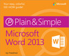 Livre numrique Microsoft Word 2013 Plain &amp; Simple