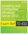 Livre numérique Exam Ref 70-410: Installing and Configuring Windows Server® 2012