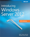 Livre numérique Introducing Windows Server® 2012 RTM Edition