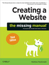 Livre numérique Creating a Website: The Missing Manual