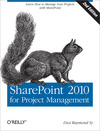 Livre numérique SharePoint 2010 for Project Management