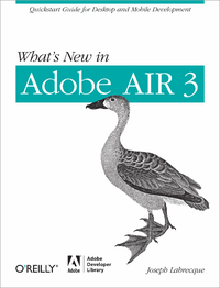 Livre numérique What's New in Adobe AIR 3