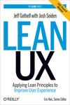 Livre numrique Lean UX