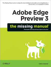 Livre numérique Adobe Edge Preview 3: The Missing Manual