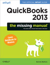 Livre numrique QuickBooks 2013: The Missing Manual