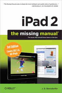 Livre numrique iPad 2: The Missing Manual
