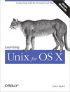 Livre numrique Learning Unix for OS X Mountain Lion