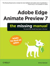 Livre numérique Adobe Edge Animate Preview 7: The Missing Manual