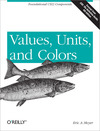Livre numérique Values, Units, and Colors