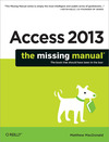 Livre numrique Access 2013: The Missing Manual