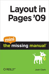 Livre numrique Layout in Pages &#x27;09: The Mini Missing Manual