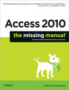 Livre numérique Access 2010: The Missing Manual